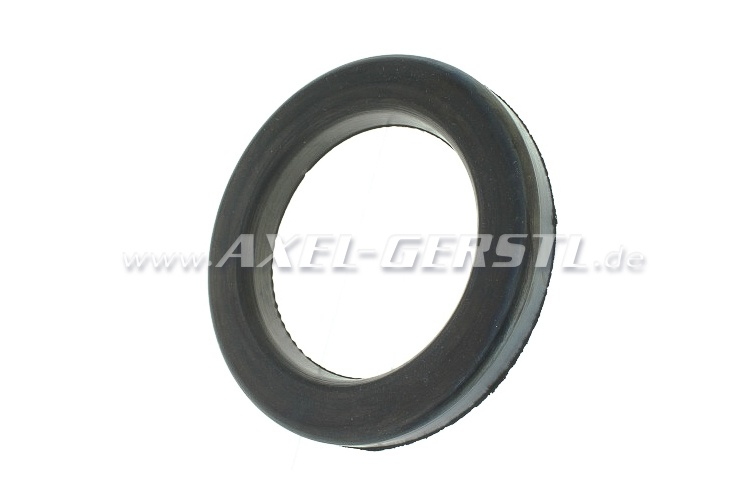 Rubber washer for spring seat ring