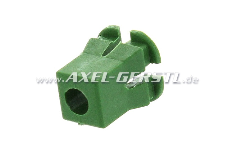 Cheville 3,5 mm, dimension dencombrement 8x12 mm, vert