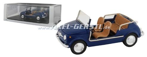 Auto modello SPARK Fiat 500 Jolly, 1:43, blu