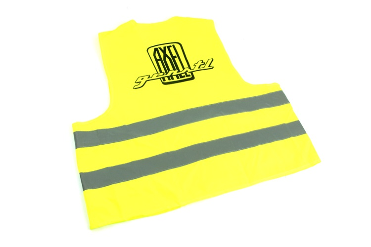 Reflective vest, DIN EN 471, yellow