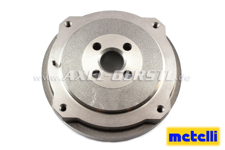Brake drum, rear, pitch circle 190 mm / d = 170 mm, METELLI
