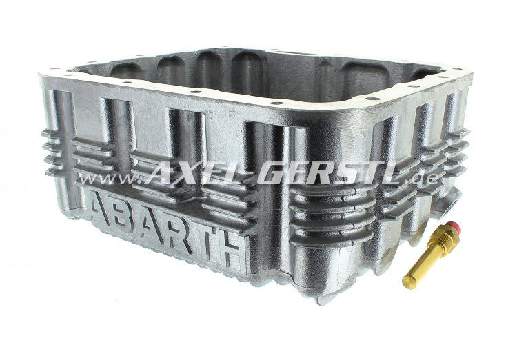 Aluminum oil-pan Abarth, with wash plate and Oil temp. sens.