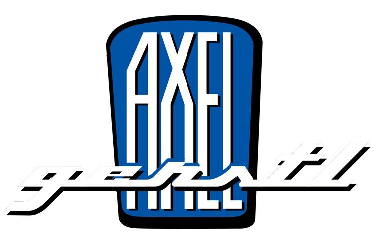 Adesivo AXEL GERSTL, blu 128 x 77 mm