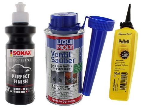 Produits d'entretien et de maintenance