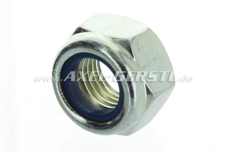 Nut for steering lever bolt, standard metric thread M12x1,5