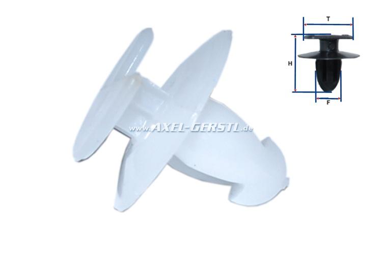 SoPo: Befestigungsklammer für Tür-/Seitenverkleidungen