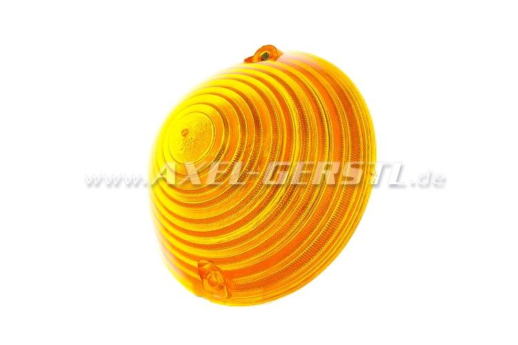 Blinkleuchtenglas gelb