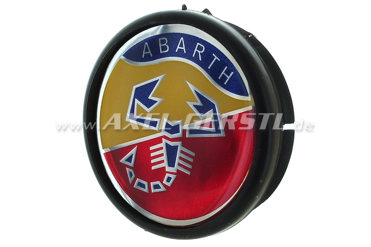 Coperchio ruota Abarth, blasone 42mm/48mm