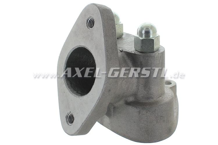 Carburetor intake manifold for Dell Orto 32 FZD/45°