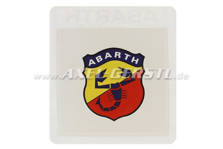 Pouch ABARTH Porta Assicurazione, adhesive