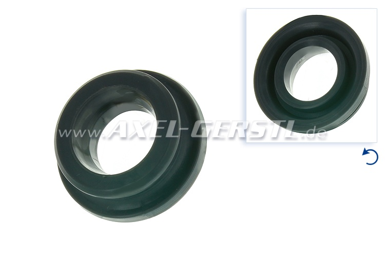 Rubber bushing for gearshift linkage