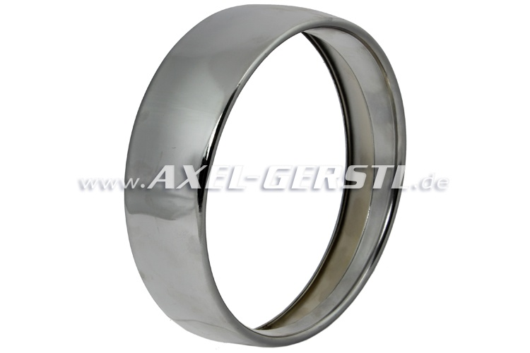 Headlamp chrome ring, single