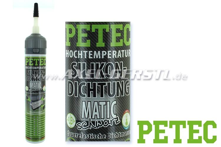 Silicon Gasket PETEC, black, to + 260 °C, 200ml