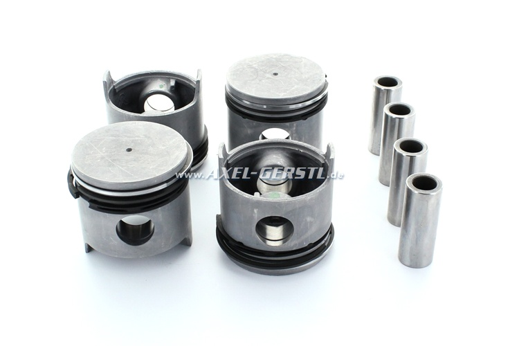 Set of pistons 62.40 mm (2nd oversize)