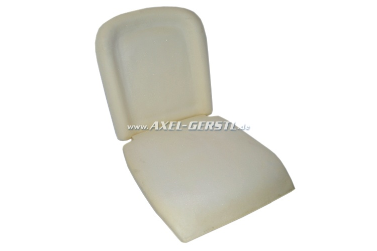 Set of seat cushions for front seat (consists of two pieces)