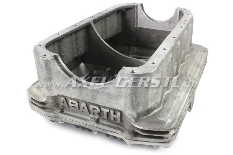 Aluminum oil pan Abarth (No shaking)