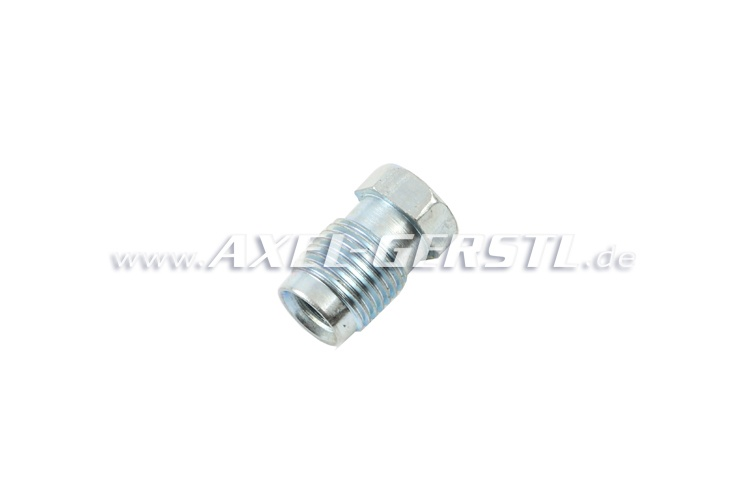Short nipple for brake lines (screw connection, M10 x 1,00)