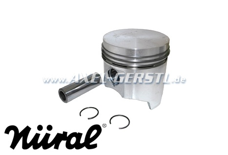 Piston 77.0 mm incl. piston rings and pins 0.4 oversize