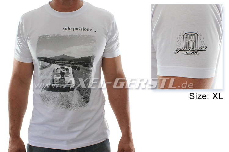 T-Shirt 30 Jahre Axel Gerstl, Motiv Solo passione