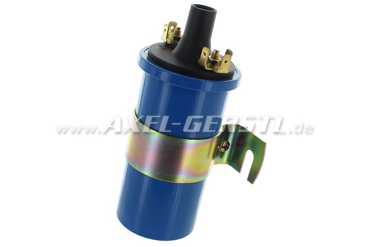 Ignition coil, blue, oil-cooled