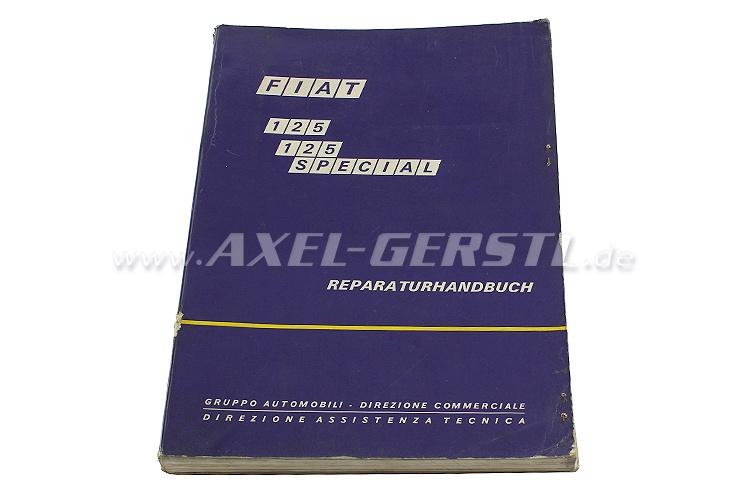 SoPo: Reparaturhandbuch Fiat 125 Special
