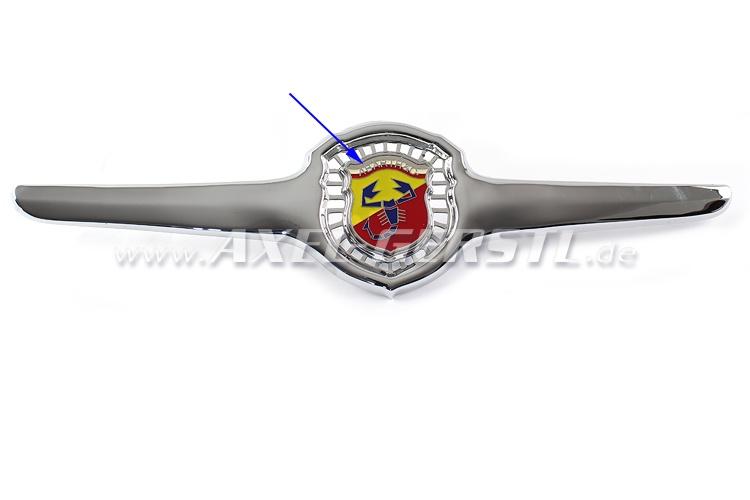 SoPo: Frontemblem Abarth (Flügel gelocht incl. mittl. Embl.)