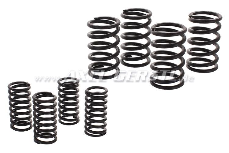 Set of valve-springs (4x inner + 4x outer)