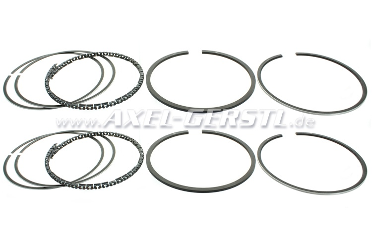 Set of piston rings (for 2 cylinders) oversize 0,6 / PREMIUM