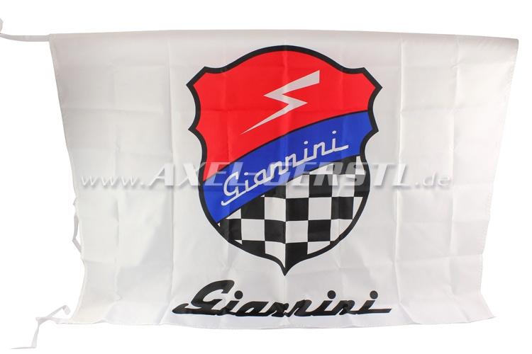 Flagge Giannini, Wappen & Schriftzug 100 x 140 cm
