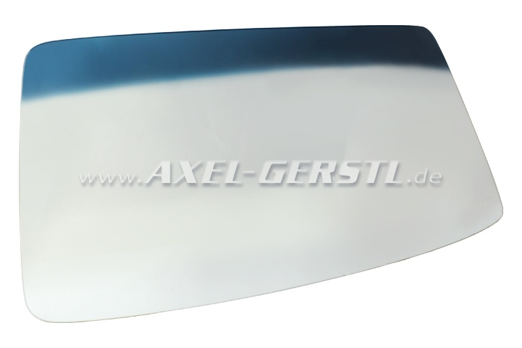 Windscreen (shatterproof glass) with blue top-tint