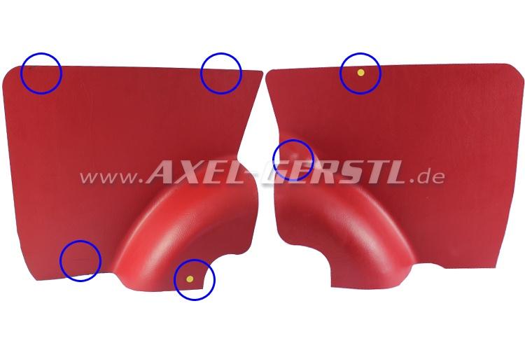 SoPo: Seitenverkleidung rot, hinten, paarweise