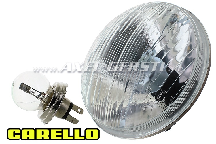 Headlamp, Bilux (convex  / 170mm) without parking light
