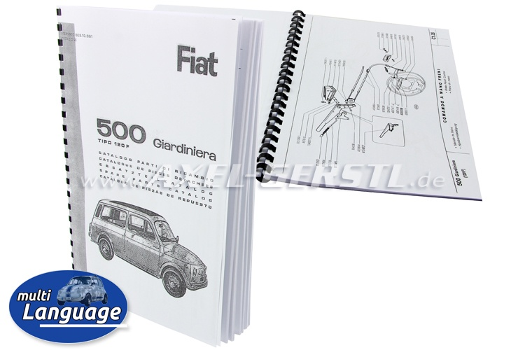 Spare-part catalogue (mechanical data), copy, 84 p., size A4