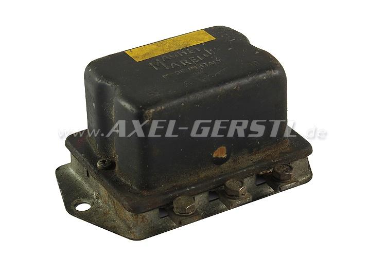 SoPo: Lichtmaschinen-Regler (mechanisch), orig. MARELLI