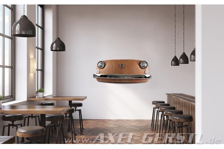 Wand Deko Fiat 500 Frontmaske Italia Inkl Beleuchtung Fiat 500