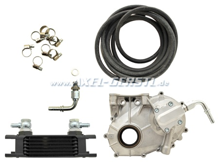 Logotech oil cooler kit, type 2 without thermostat / filter