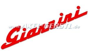 Autocollant Giannini 360 mm, rouge