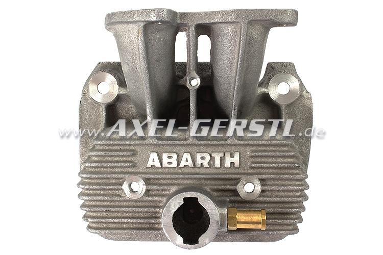 Alu-Ventildeckel Abarth für Doppelvergaser