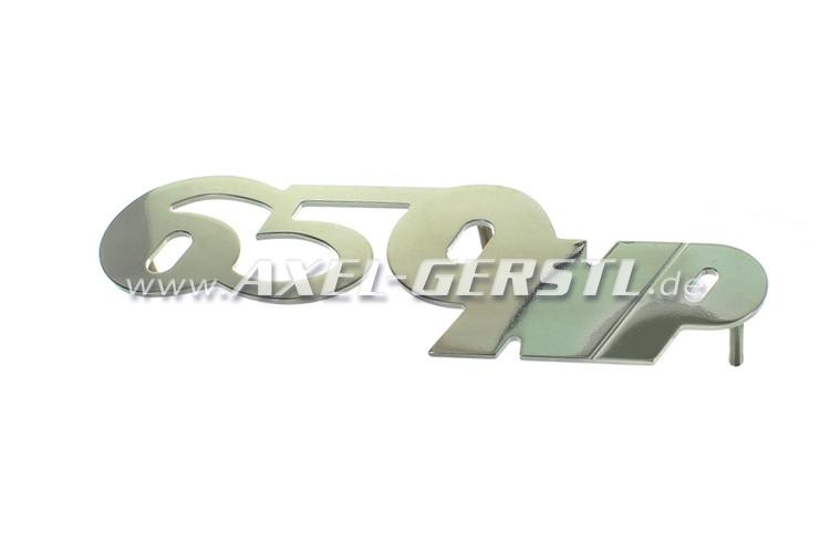 Heckemblem 650 NP für Motorhaube