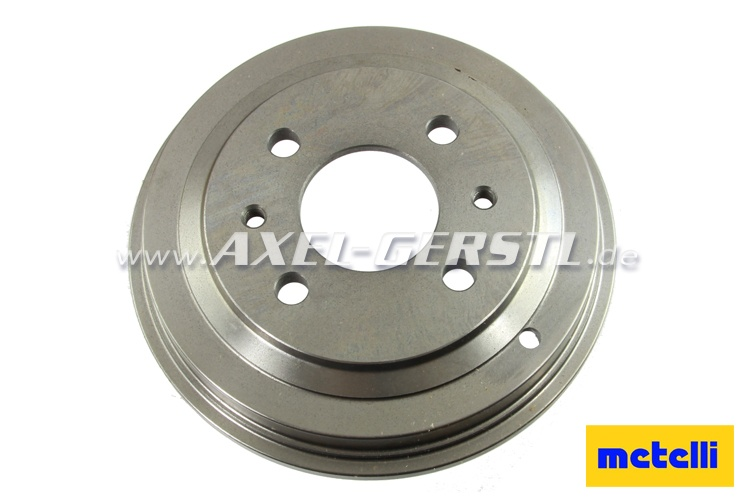 Brake drum by METELLI, front/rear, pitch circle 98 mm