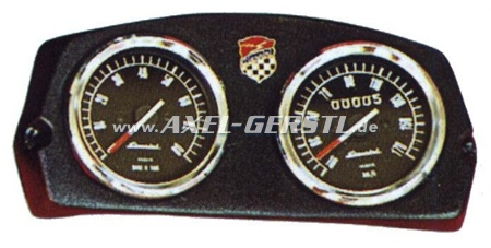 Cockpit Armatures Giannini 2 Instruments Fiat 500 L
