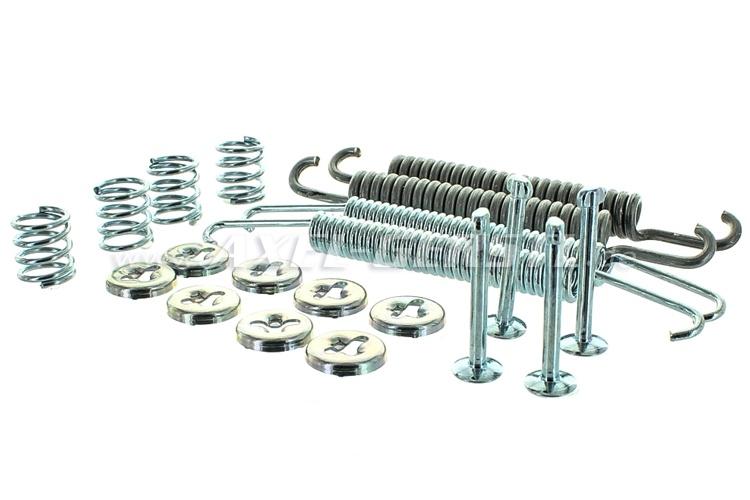 Bremsbacken-Montagesatz incl. Rückholfedern