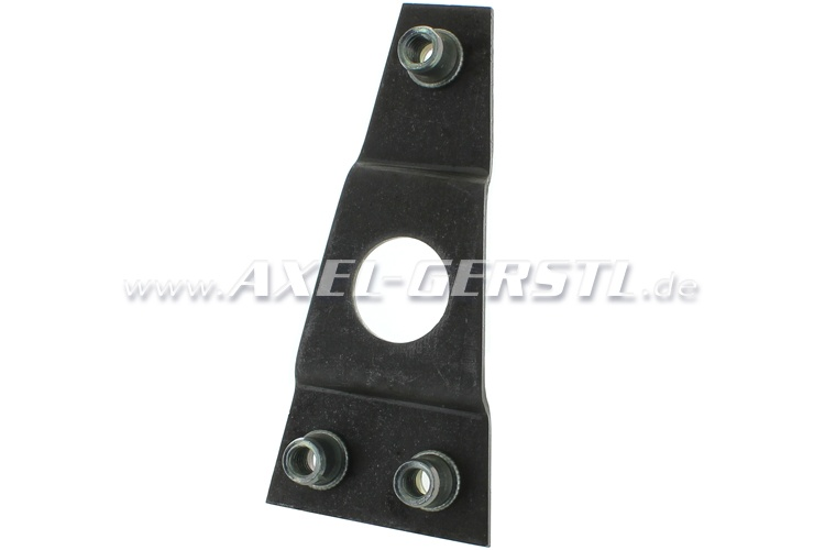 Mounting for strike plate / door latch