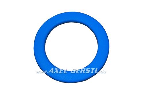 SoPo: Zierring für Luisi-Lenkrad, Leder blau