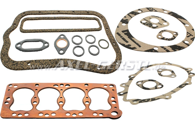 Set of engine gaskets