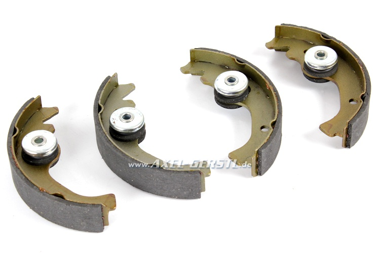 Set of brake shoes with new eccentric (1 axle), p.c. 190 mm