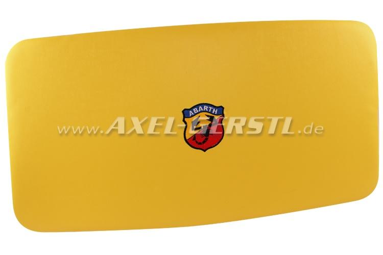 Himmel (Kunstleder bezogen & gepolstert) Abarth, gelb