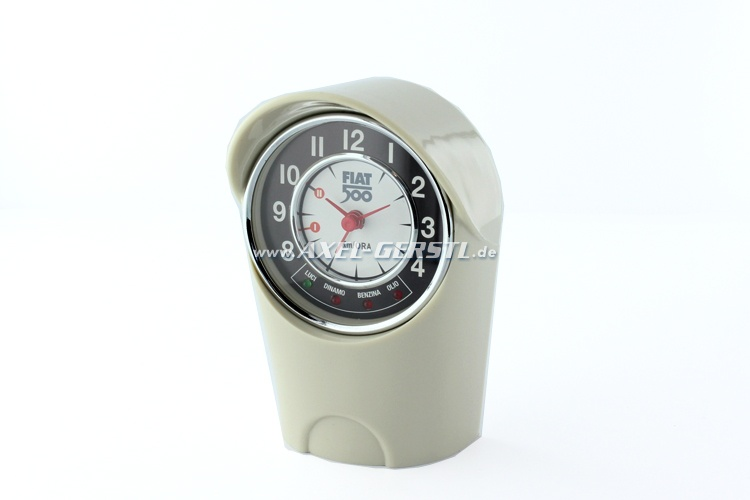 Sveglia allogiamento tachimetro Fiat 500(8 x 12,5 x 6 cm)