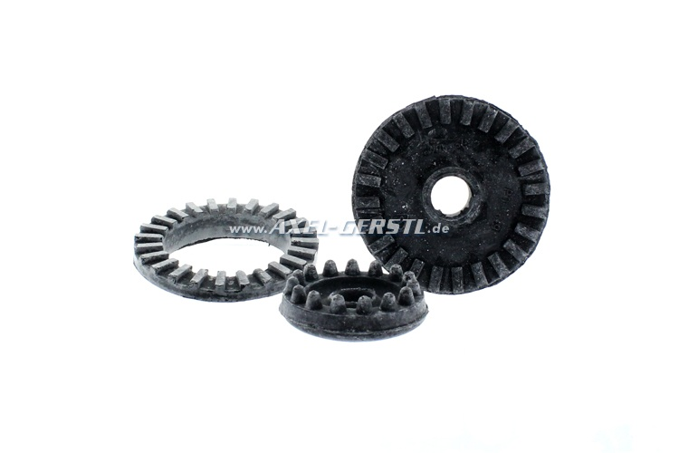 Set of rubber bearings for engine mounting (3 bearings)
