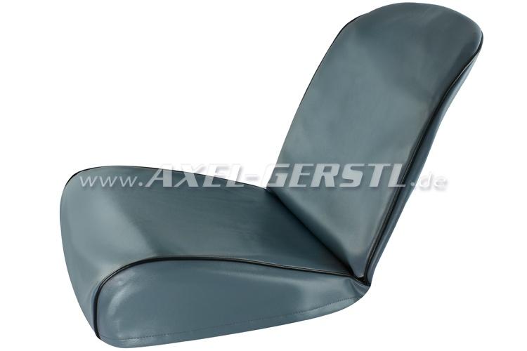 sitzbez ge blau kunstleder kpl vo hi fiat 500 f. Black Bedroom Furniture Sets. Home Design Ideas